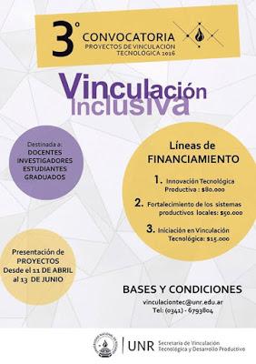Financiación proyectos de vinculación Inclusiva