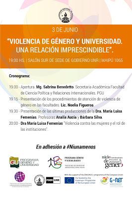 3/6 Jornada Violencia de Género y Universidad