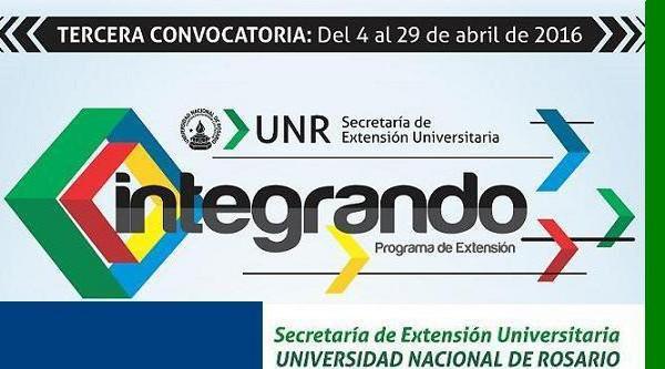 Convocatoria a participar de Prog. de Extensión