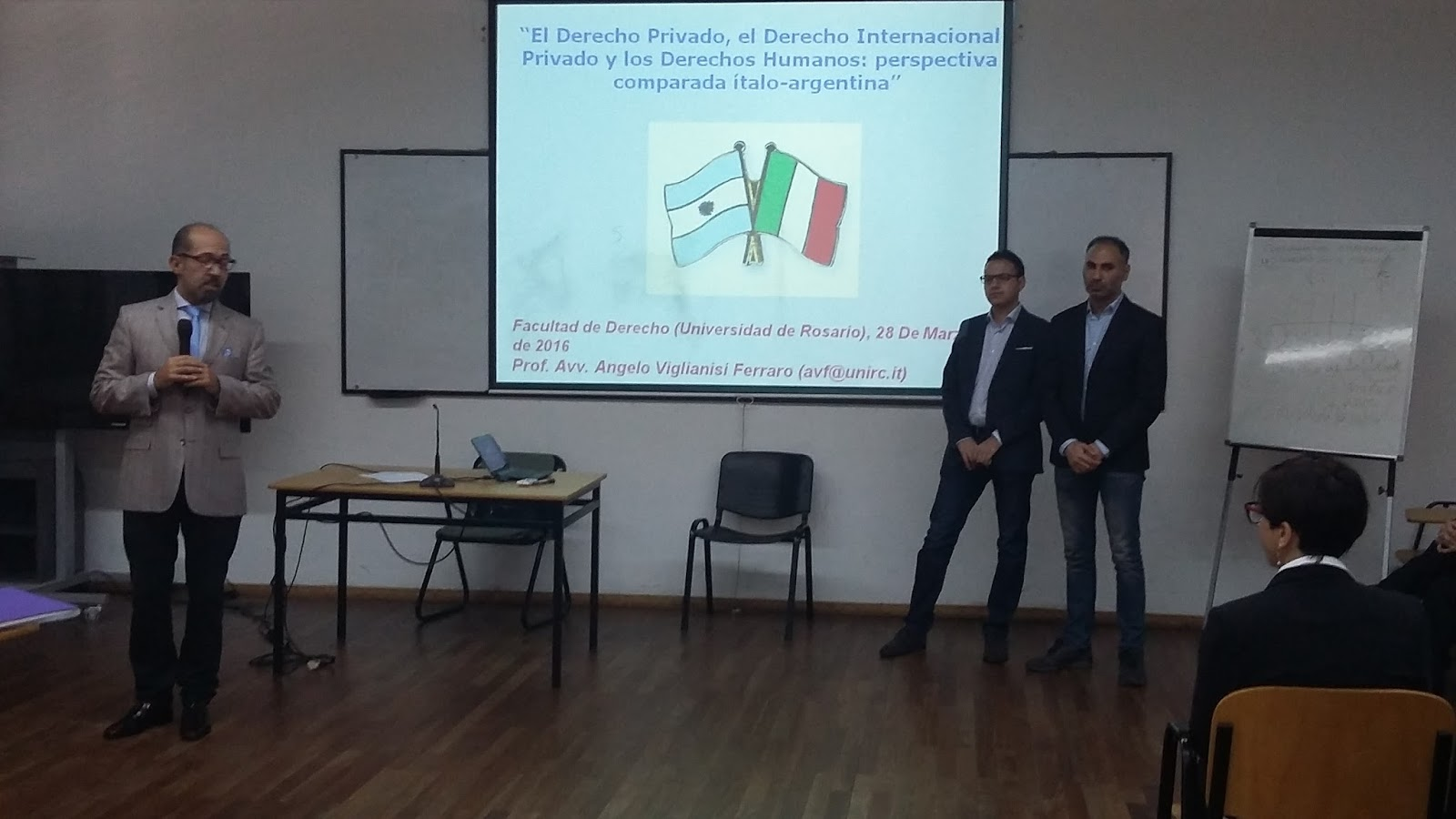 Conferencia Derecho Int. Privado y DDHH