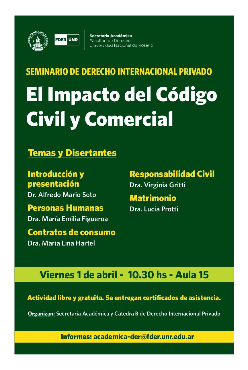 """""""Impacto del Código Civil y Comercial"""""""