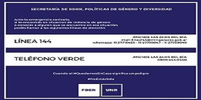 LÍNEA 144 Y TELÉFONO VERDE