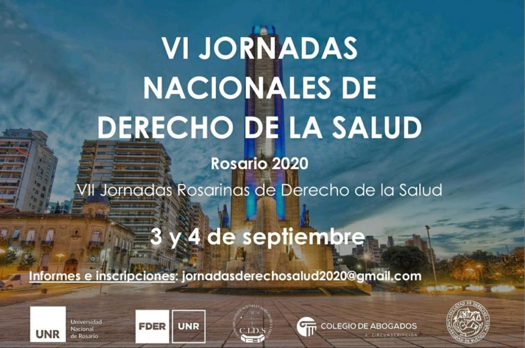 VI JORNADAS ROSARINAS DE DERECHO DE LA SALUD
