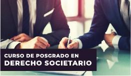 CURSO DE POSGRADO EN DERECHO SOCIETARIO