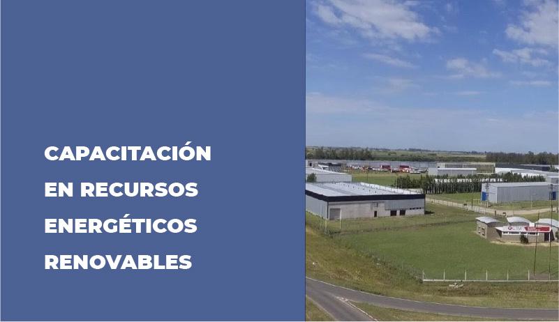 SE REALIZÓ CAPACITACIÓN EN RECURSOS ENERGÉTICOS RENOVABLES
