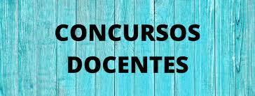 CIERRE DE INSCRIPCIÓN CONCURSOS DOCENTES